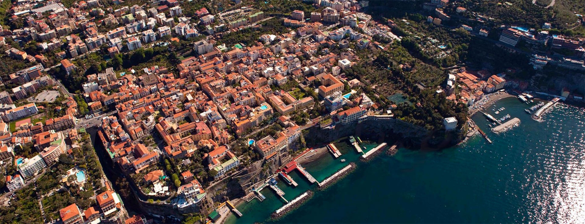 Sorrento seen from above